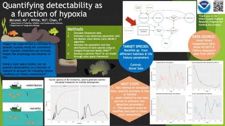 Poster 9 - Using state-space models to reduce the sensitivity of fishery assessments to hypoxia