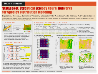 14 - StatEcoNet: Statistical Ecology Neural Networks for Species Distribution Modeling